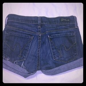COH 24 Distressed Cut Off Kelly Jean Shorts USA